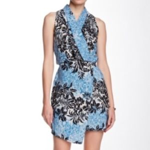Adelyn Rae Print Shirt Dress